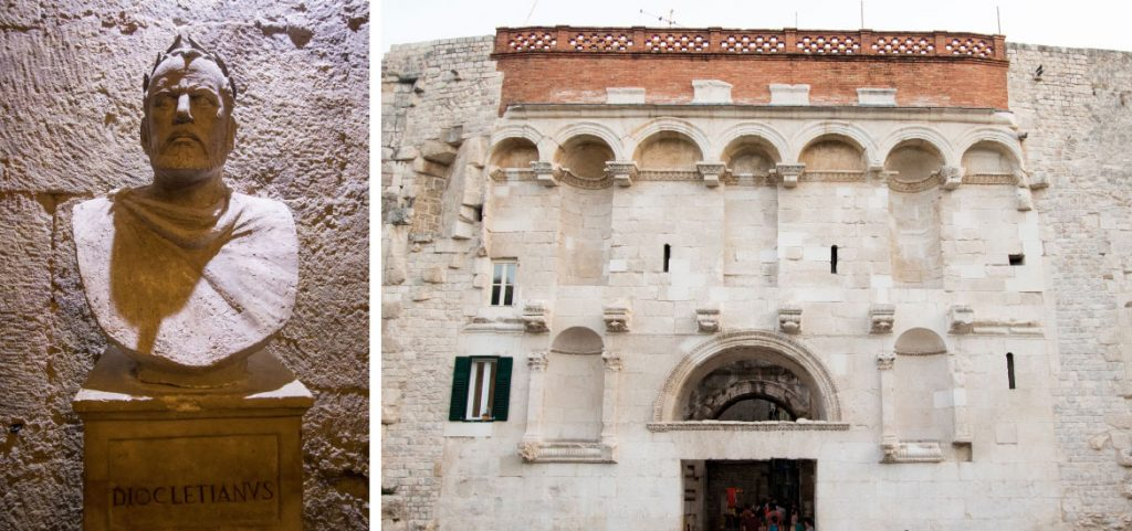 The Golden Wall and Diocletian